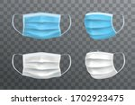 blue and white vector realistic ... | Shutterstock .eps vector #1702923475