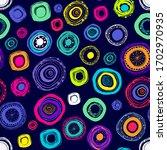 abstract seamless mandala... | Shutterstock .eps vector #1702970935