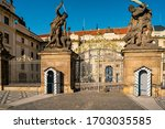 Almost Deserted Main Gate Of...
