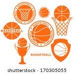basketball. logo. vector...