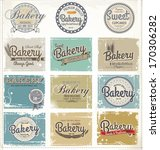 collections of bakery design... | Shutterstock .eps vector #170306282