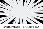 abstract comic book flash... | Shutterstock .eps vector #1703091565