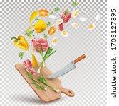 illustration of a recipe for...   Shutterstock .eps vector #1703127895