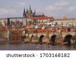 Vltava  Charles Bridge  Prague ...