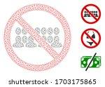 mesh stop people group... | Shutterstock .eps vector #1703175865