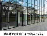Office Center Glass Exterior...