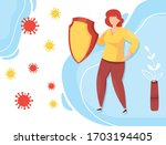 protection against viral...   Shutterstock .eps vector #1703194405