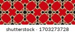decorative background with...   Shutterstock . vector #1703273728