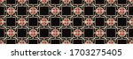 geometric pattern  gradient...   Shutterstock . vector #1703275405