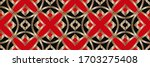 geometric pattern  gradient...   Shutterstock . vector #1703275408