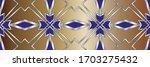 geometric pattern  gradient...   Shutterstock . vector #1703275432