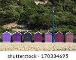 Beach Huts At Bournemouth ...