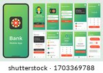 movile banking application ui... | Shutterstock .eps vector #1703369788