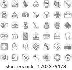 editable thin line isolated... | Shutterstock .eps vector #1703379178