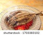 Bake Opening Of Horse Mackerel