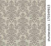 damask seamless pattern for... | Shutterstock .eps vector #170349815