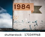1984 sign  in point pleasant... | Shutterstock . vector #170349968