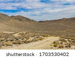 Death Valley Landscape With...