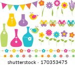 flower shop | Shutterstock .eps vector #170353475