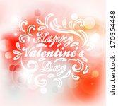 valentine's day card.  wedding... | Shutterstock .eps vector #170354468