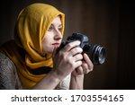 Modern Muslim Woman...