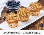 Fresh Blueberry Muffins As...