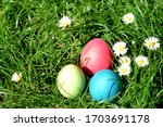 Colorful Easter Eggs Hidden In...