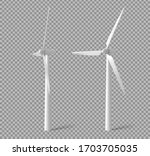 wind turbines  windmills energy ...   Shutterstock .eps vector #1703705035