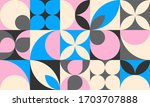 geometric abstract background... | Shutterstock .eps vector #1703707888