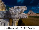 ancient mayan civilization... | Shutterstock . vector #170377685