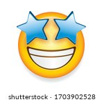 high quality emoticon isolated... | Shutterstock .eps vector #1703902528
