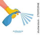 landing page coronavirus...   Shutterstock .eps vector #1703953948