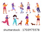 vector hand drawn set isolated... | Shutterstock .eps vector #1703975578
