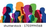 concept of a cosmopolitan... | Shutterstock .eps vector #1703994568