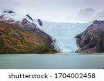 Andes. Glacier. Mountain View...