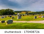 Cemetery And View Of Rolling...