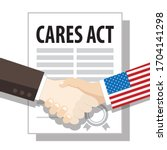 Cares Act Paper  Handshake ...
