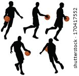 eps 10 vector basketball... | Shutterstock .eps vector #170417552