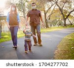 Happy Mixed Race Ethnic Family...