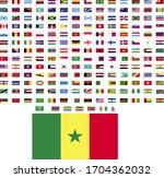 flags of the world. world flag... | Shutterstock .eps vector #1704362032