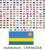 flags of the world. world flag... | Shutterstock .eps vector #1704362218