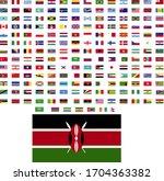 flags of the world. world flag... | Shutterstock .eps vector #1704363382