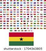 flags of the world. world flag... | Shutterstock .eps vector #1704363805