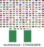 flags of the world. world flag... | Shutterstock .eps vector #1704363898
