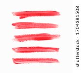 acrylic art brush painted... | Shutterstock .eps vector #1704381508