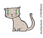 cartoon cat | Shutterstock . vector #170438162