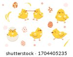 Happy Yellow Chicken Collection ...