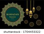 ramadan kareem background for...   Shutterstock .eps vector #1704453322