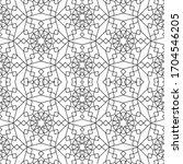 minimal islamic ornament...   Shutterstock .eps vector #1704546205