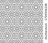 minimal islamic ornament...   Shutterstock .eps vector #1704546238